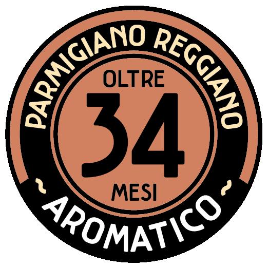 Parmigiano Reggiano oltre  34 mesi