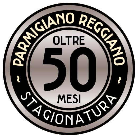 Parmigiano Reggiano 50 mesi Prodotto di Montagna